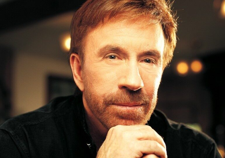 Chuck Norris Staying Sexy at 75