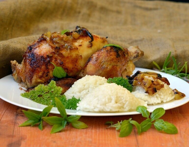 Mama's Baked Chicken and Rice