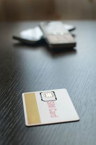 Sim Card And Mobile Phone